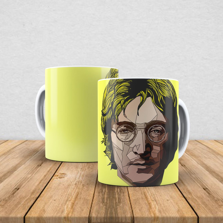 Caneca de porcelana John Lennon 350ml II