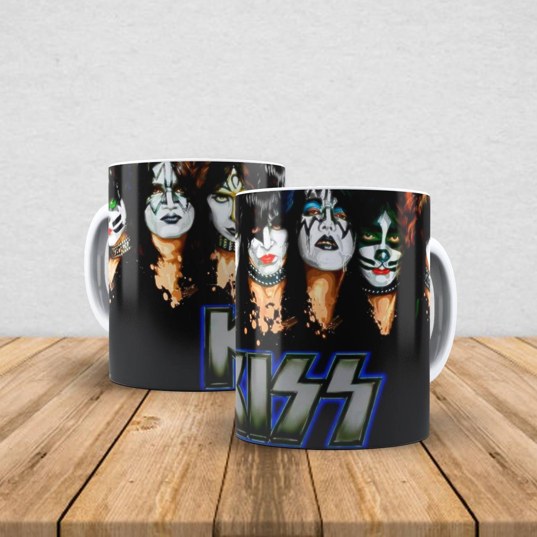 Caneca de porcelana Kiss 350ml I