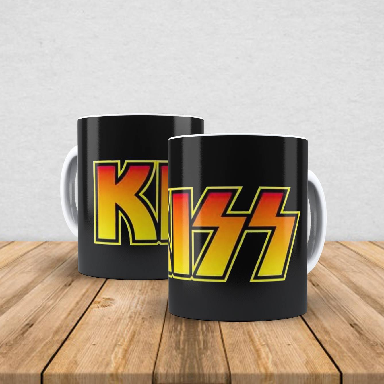 Caneca de porcelana Kiss 350ml III