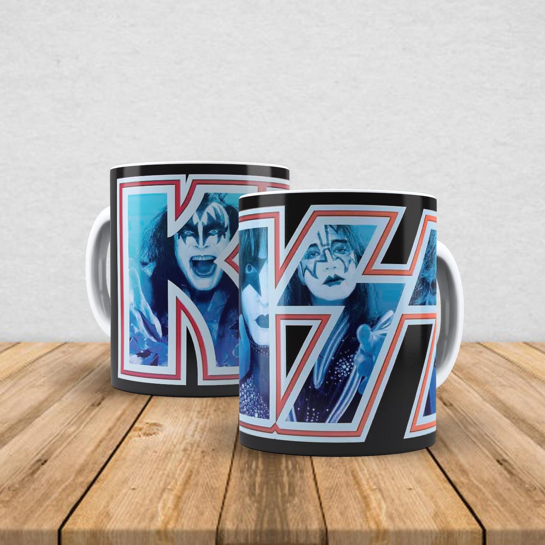 Caneca de porcelana Kiss 350ml V