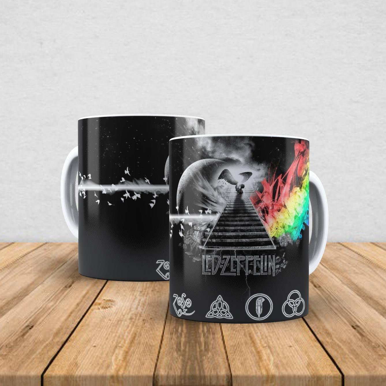 Caneca de porcelana Led Zeppelin 350ml II