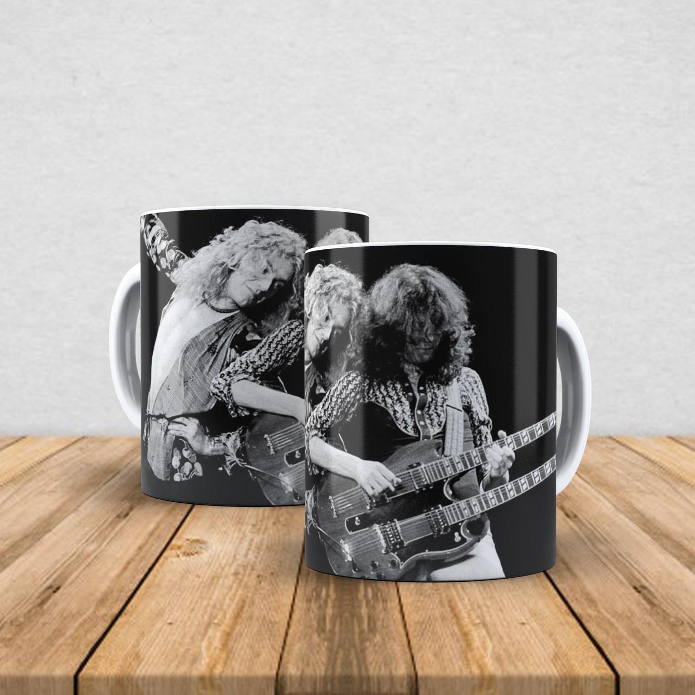 Caneca de porcelana Led Zeppelin 350ml X
