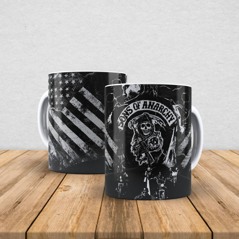Caneca de porcelana Sons Of Anarchy 350ml II