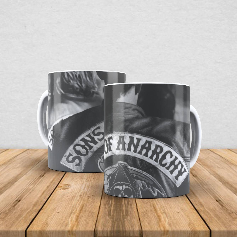 Caneca de porcelana Sons Of Anarchy 350ml III