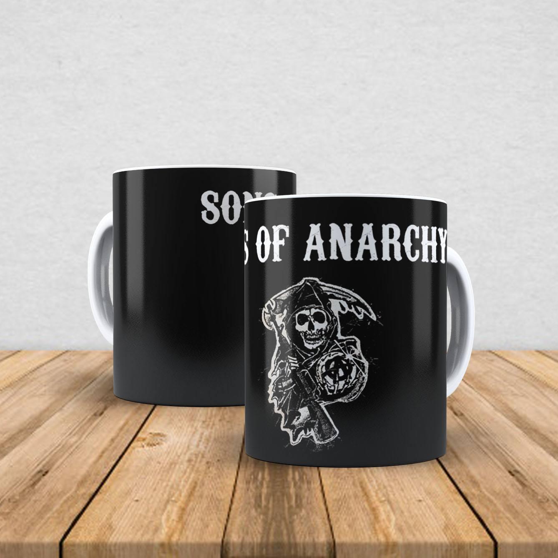 Caneca de porcelana Sons Of Anarchy 350ml IV