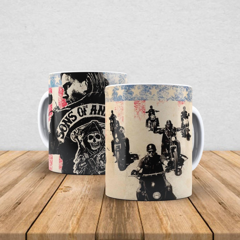 Caneca de porcelana Sons Of Anarchy 350ml VII
