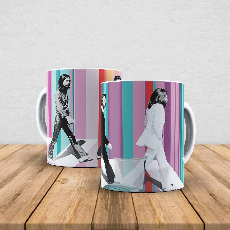 Caneca de porcelana The Beatles 350ml III
