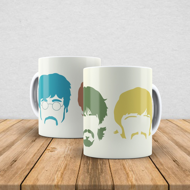 Caneca de porcelana The Beatles 350ml IV