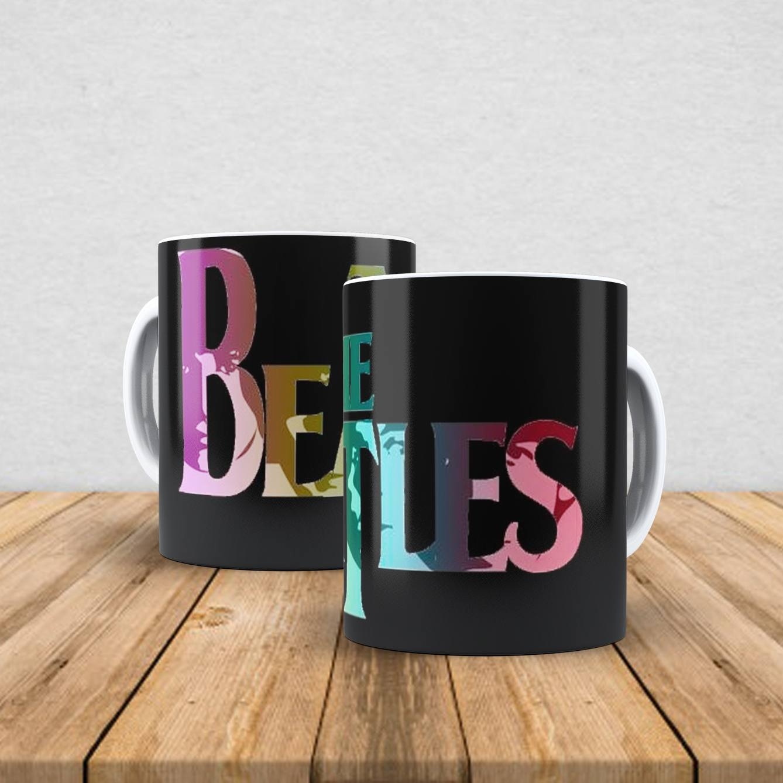 Caneca de porcelana The Beatles 350ml IX