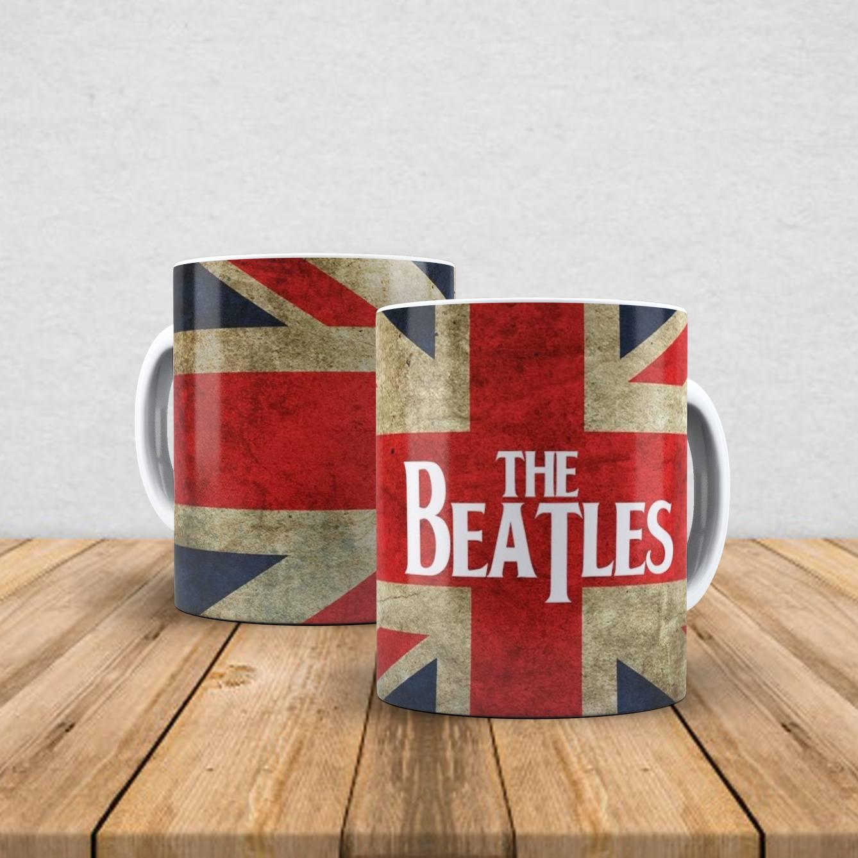 Caneca de porcelana The Beatles 350ml V