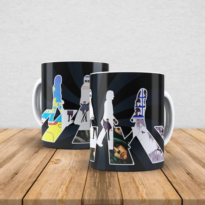 Caneca de porcelana The Beatles 350ml VII