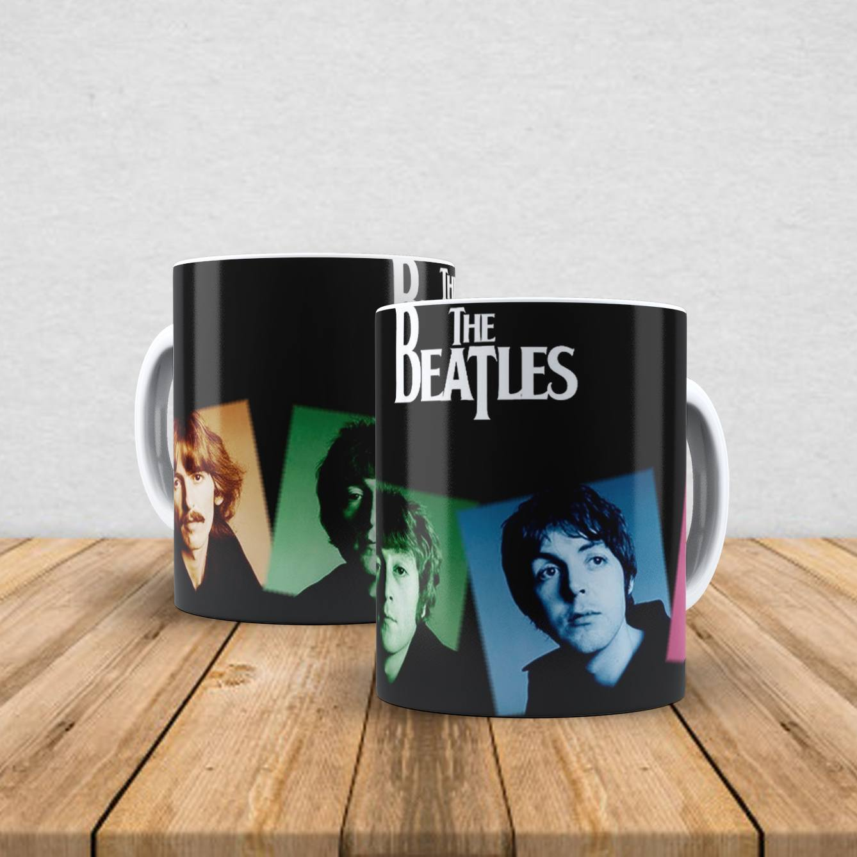 Caneca de porcelana The Beatles 350ml X