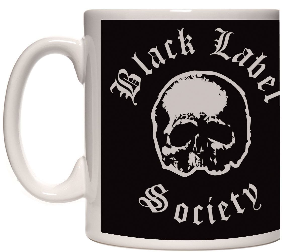 Caneca porcelana Black Label Society