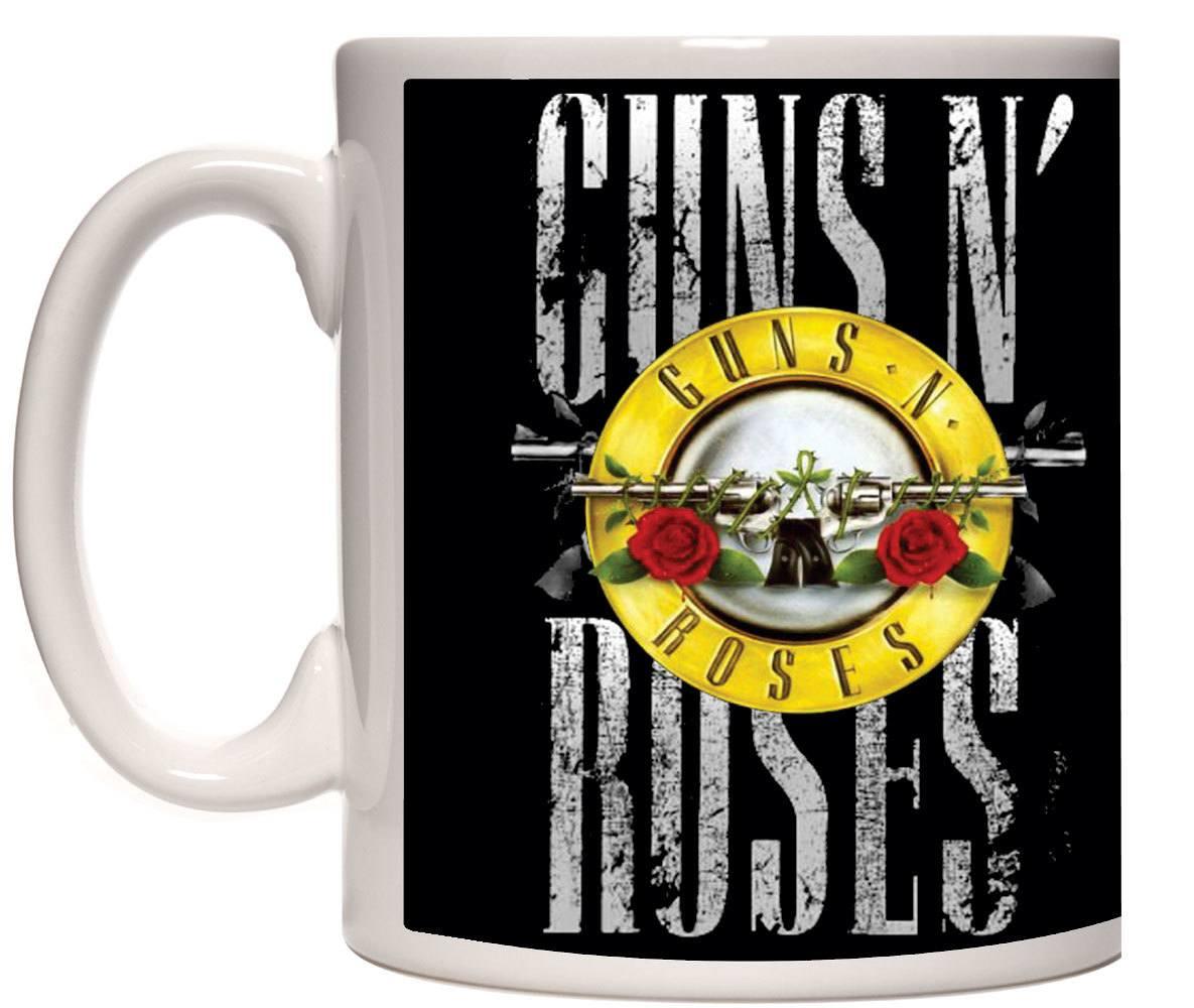 Caneca porcelana Guns N Roses