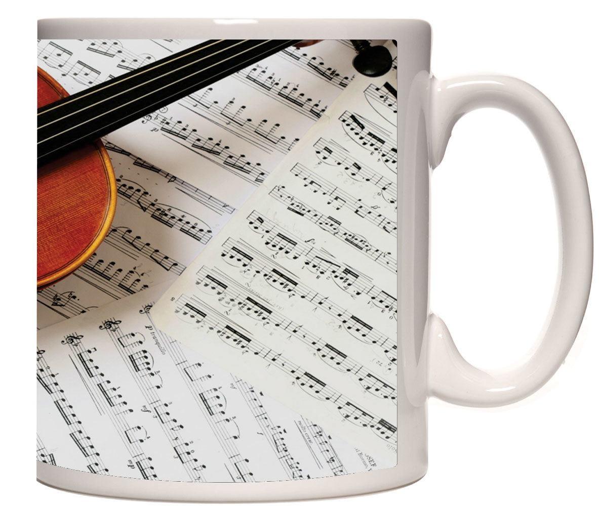 Caneca porcelana Violino