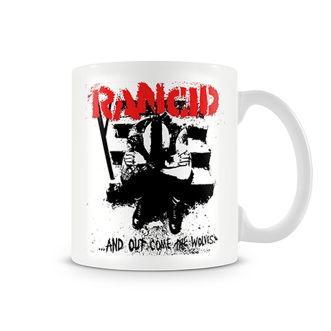 Caneca Rancid - ...And Out Come The Wolves