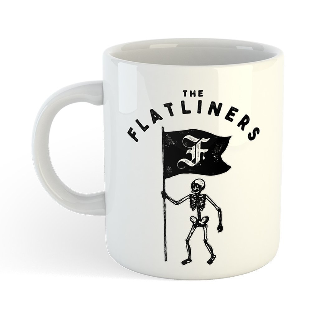 Caneca The Flatliners - Skeleton Flag