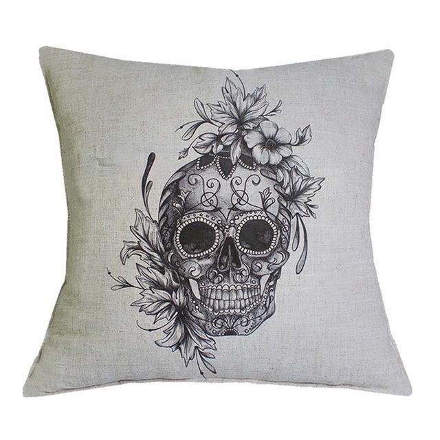 Capa Para Almofada Skull Basic – SkullAchando