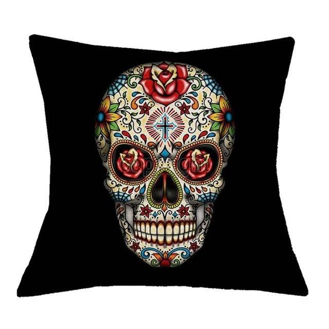 Capa Para Almofada Skull Colors – SkullAchando