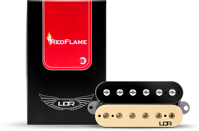 Captador Humbucker LDR Red Flame