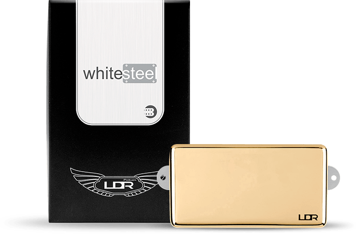 Captador Humbucker LDR  White Steel
