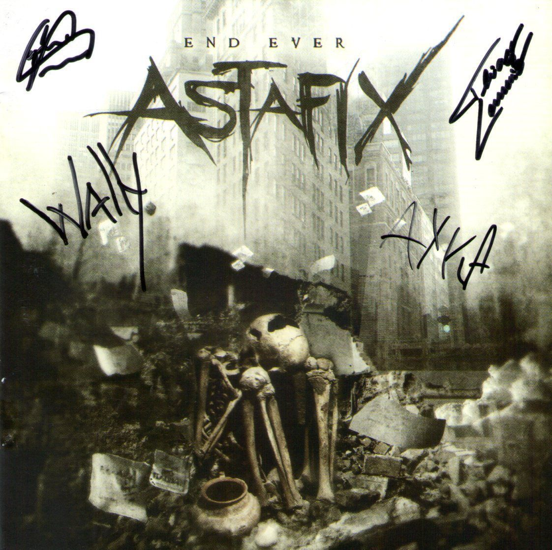 CD – Astafix – End Ever – Autografado