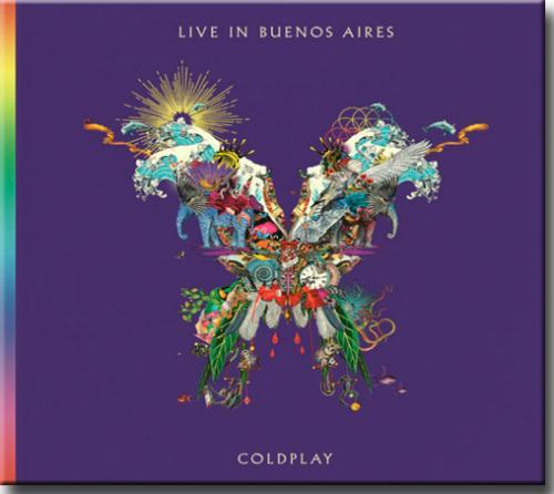 Cd Coldplay - Live in Buenos Aires