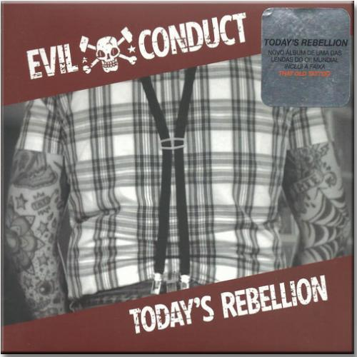 Cd Evil Conduct - Today's Rebellion