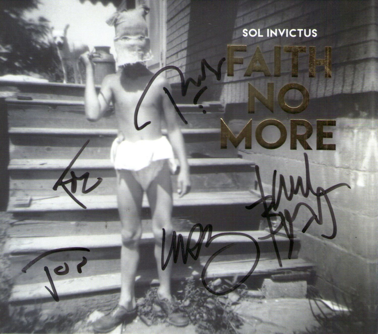 CD – Faith No More – Sol Invictus – Autografado