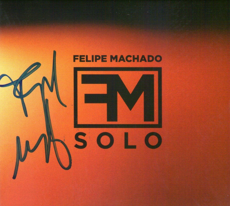 CD – Felipe Machado – FM Solo – Autografado