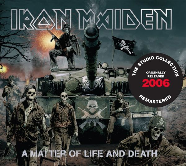 CD Iron Maiden - A Matter Of Life And Death (Digipack)
