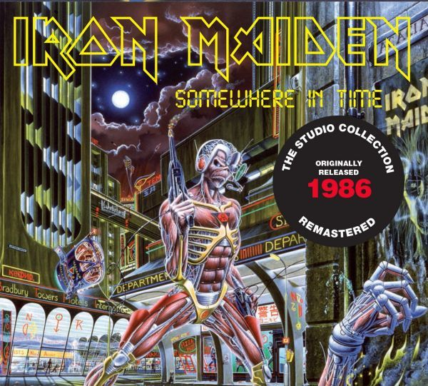 CD Iron Maiden - Somewhere In Time (Digipack)