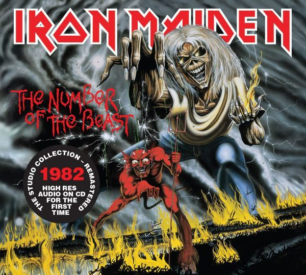 CD Iron Maiden - The Number Of The Beast (Digipack)