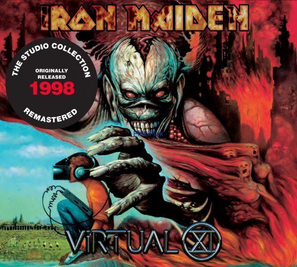 CD Iron Maiden - Virtual XI (Digipack)