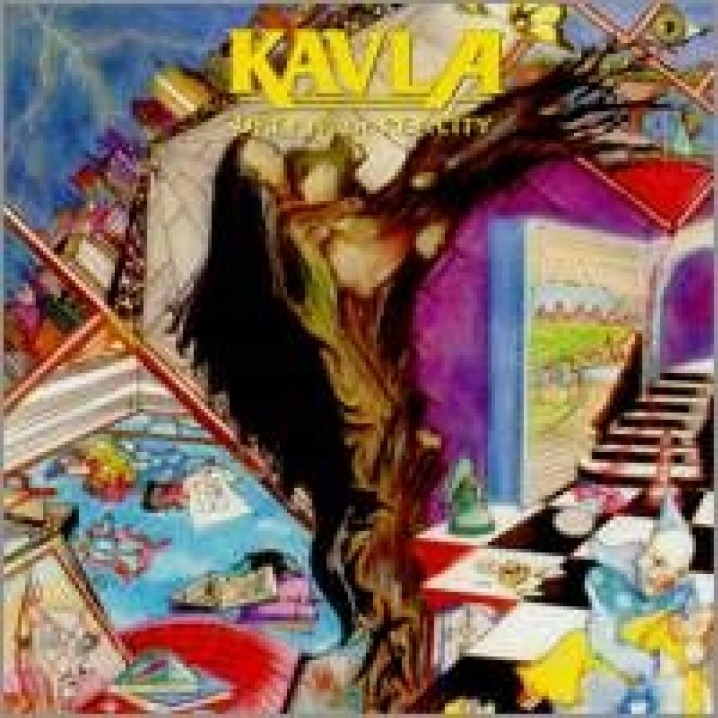 CD - Kavla - Dream Or Reality (Edição Original Lacrada de Colecionador) - Banda Kavla