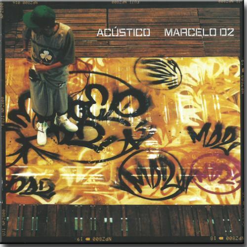 Cd Marcelo d2 - Acustico Mtv Marcelo d2