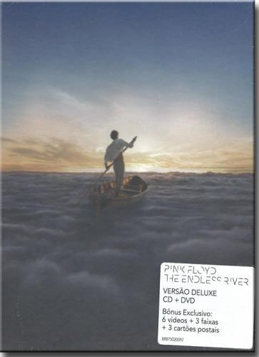 Cd Pink Floyd - The Endless River Deluxe Box (CD + DVD)
