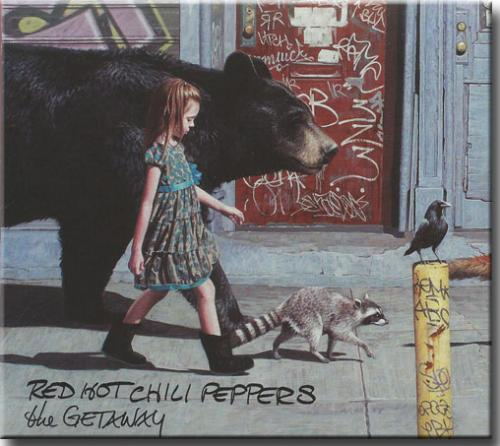 Cd Red Hot Chili Peppers - The Getaway