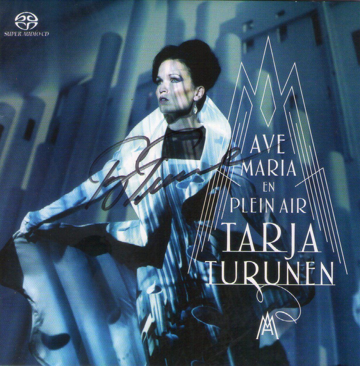 CD – Tarja Turunen – Ave Maria en Plein Air – Autografado
