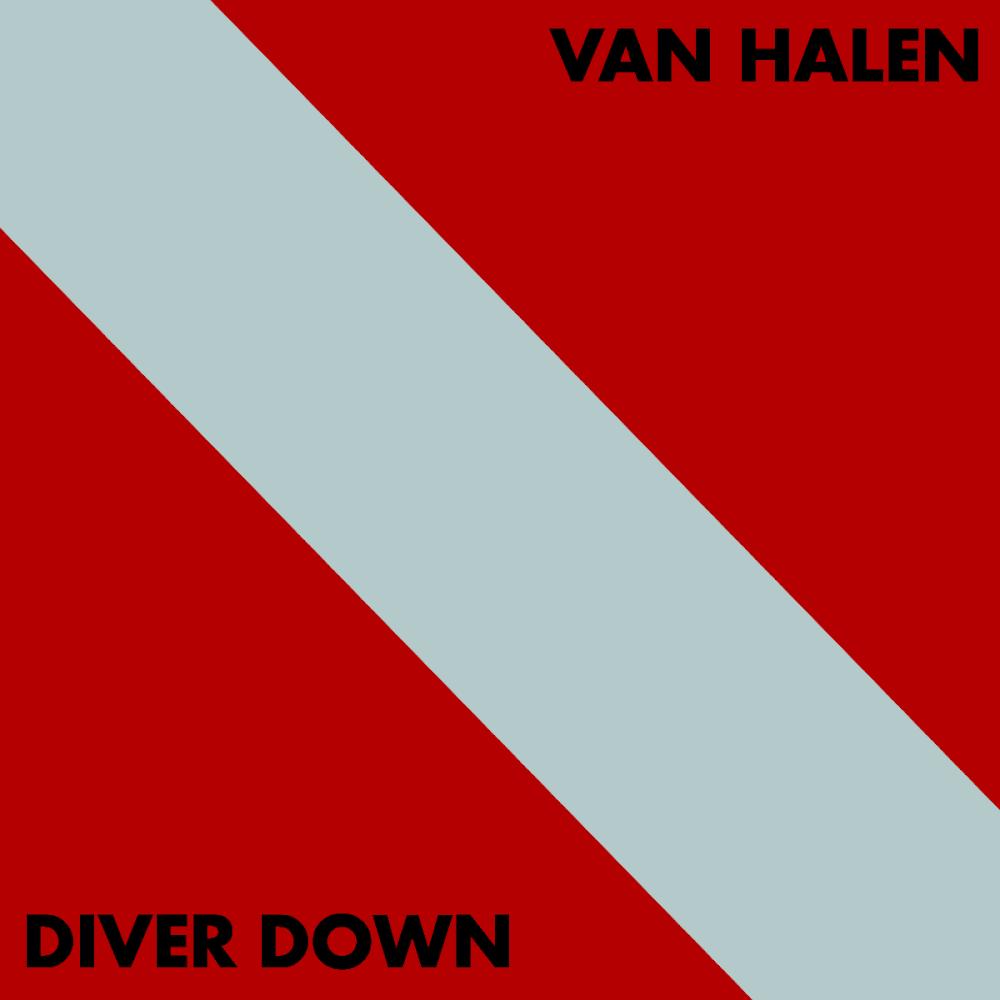 CD Van Halen - Diver Down (Nacional)