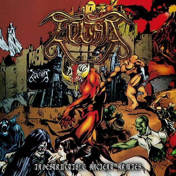 CD Zoltar - Indestructible Ancient Armies (Digipack)