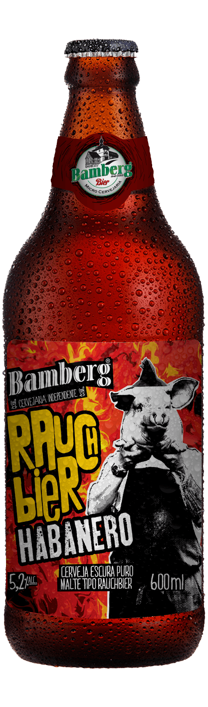 Cerveja Bamberg Rauchbier Habanero 600 ml