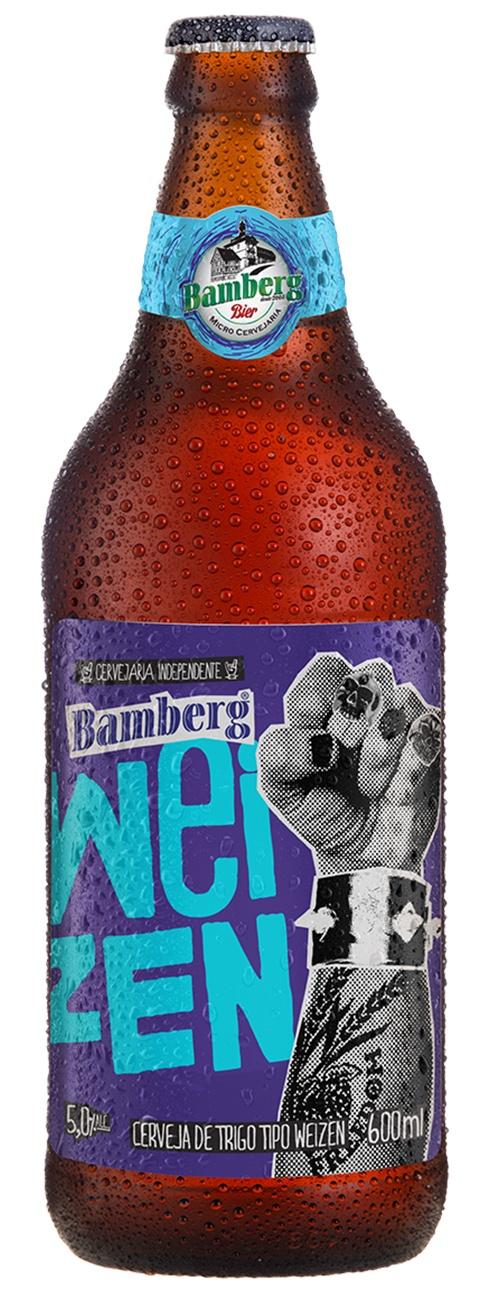 Cerveja Bamberg Weizen 600 ml