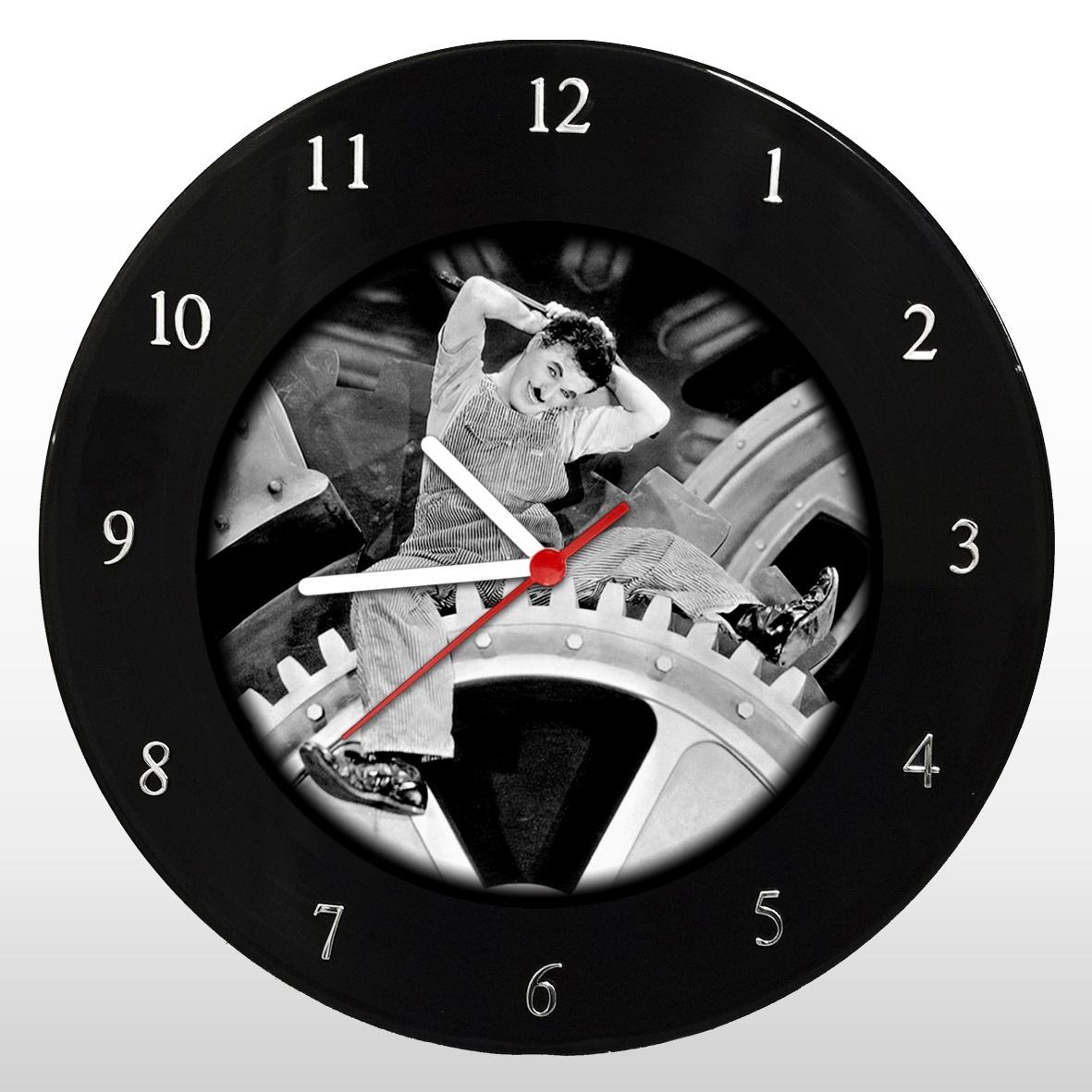 Charles Chaplin - Relógio de Parede em Disco de Vinil - Mr. Rock