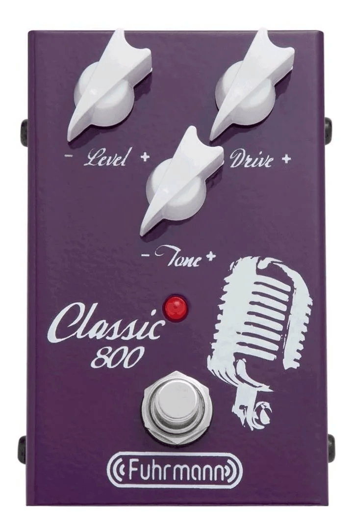 Pedal para Guitarra Fuhrmann CL-01 Classic 800
