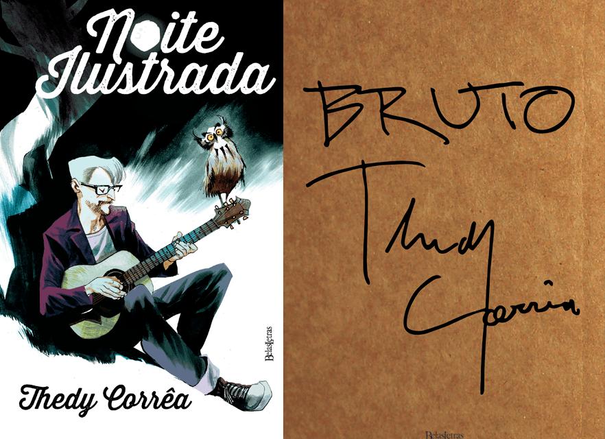 Combo Thedy Corrêa (Bruto + Noite ilustrada) - Editora Belas Letras