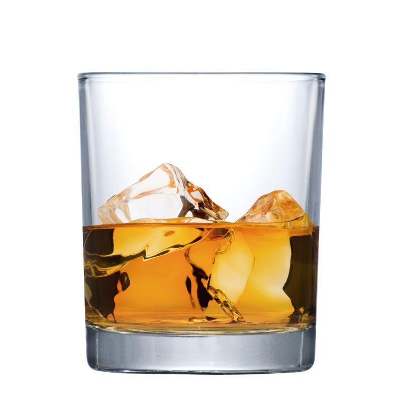 Copo de Whisky Prestige on the Rocks