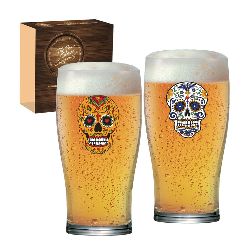 Copo de cerveja Pint Mexican Style III - 02 peças