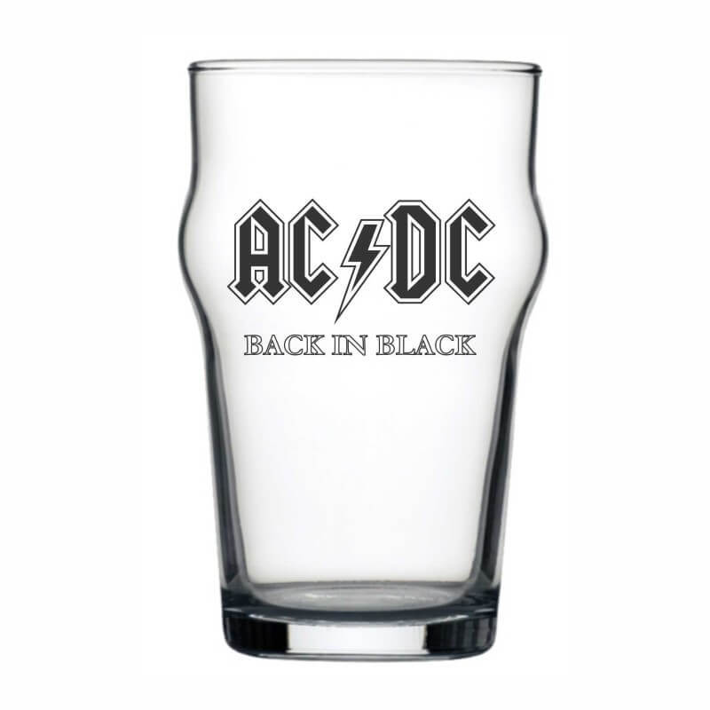 Copo Stout AC/DC Cerveja Beer Pint Rock 473ml