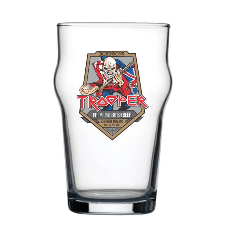 Copo Stout Iron Maiden Cerveja Beer Pint Rock 473ml